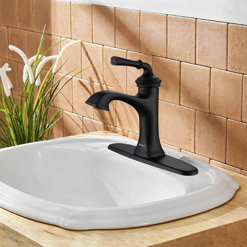 Md Bath Single Hole Bathroom Faucet, Wayfair Bathroom Faucets