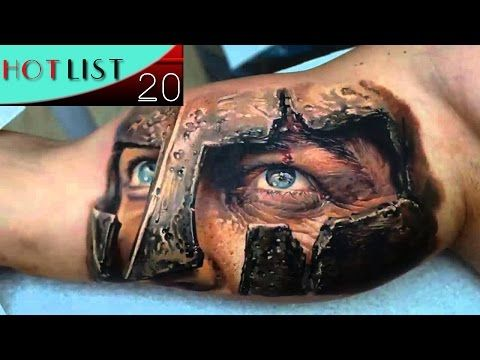 20 Most Amazing 3D Tattoos - YouTube | × •3D Tattoos• × | Warrior ...