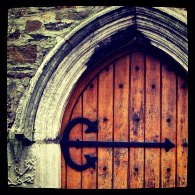 Wooden Door - Kinsale, Ireland