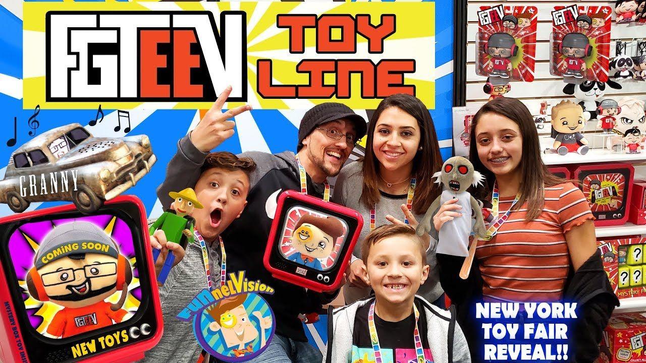 Fgteev Toys Granny S House Baldis Basics Huge Reveal Funnel Fam New York Toy Fair Vlog Youtube Granny House Best Kids Toys Kids Entertainment [ 720 x 1280 Pixel ]
