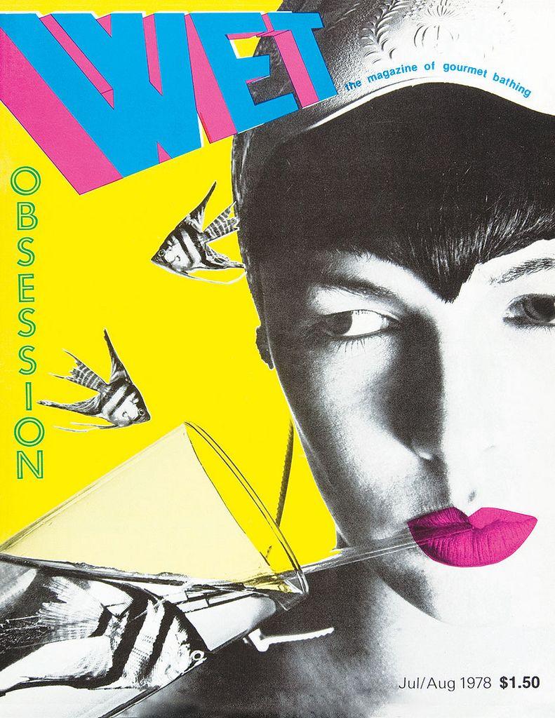WET Cover, April Greiman and Jayme Ogden, 1978