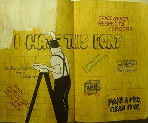 wreck this journal | via Tumblr