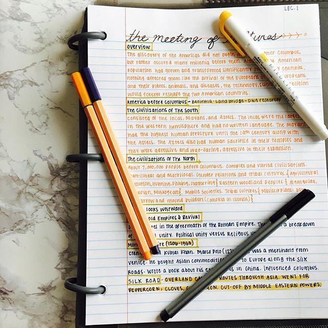 Cute Notes Yellow Orange Notes Pinterest Apuntes, Estudios y