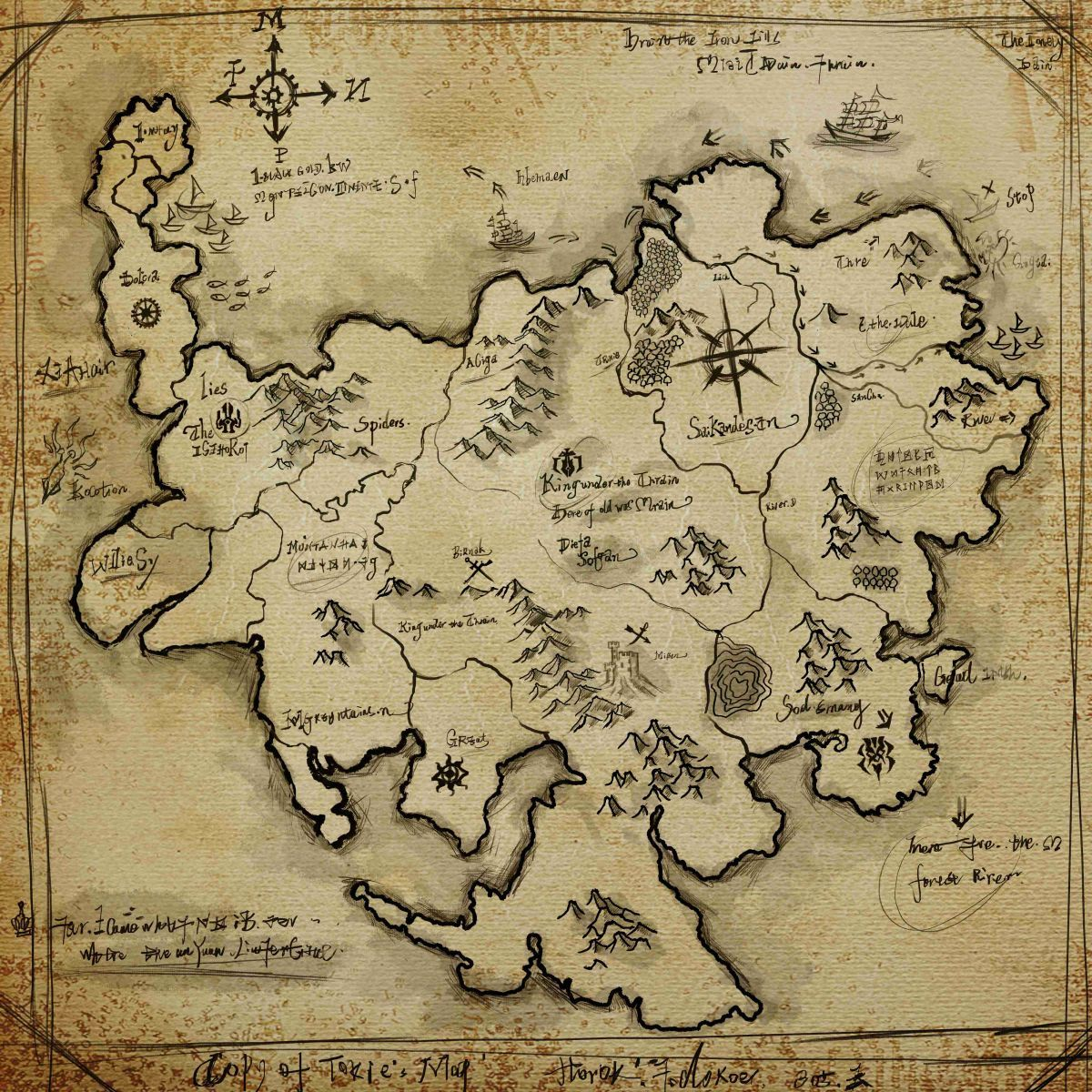 steampunk map wallpaper - photo #25
