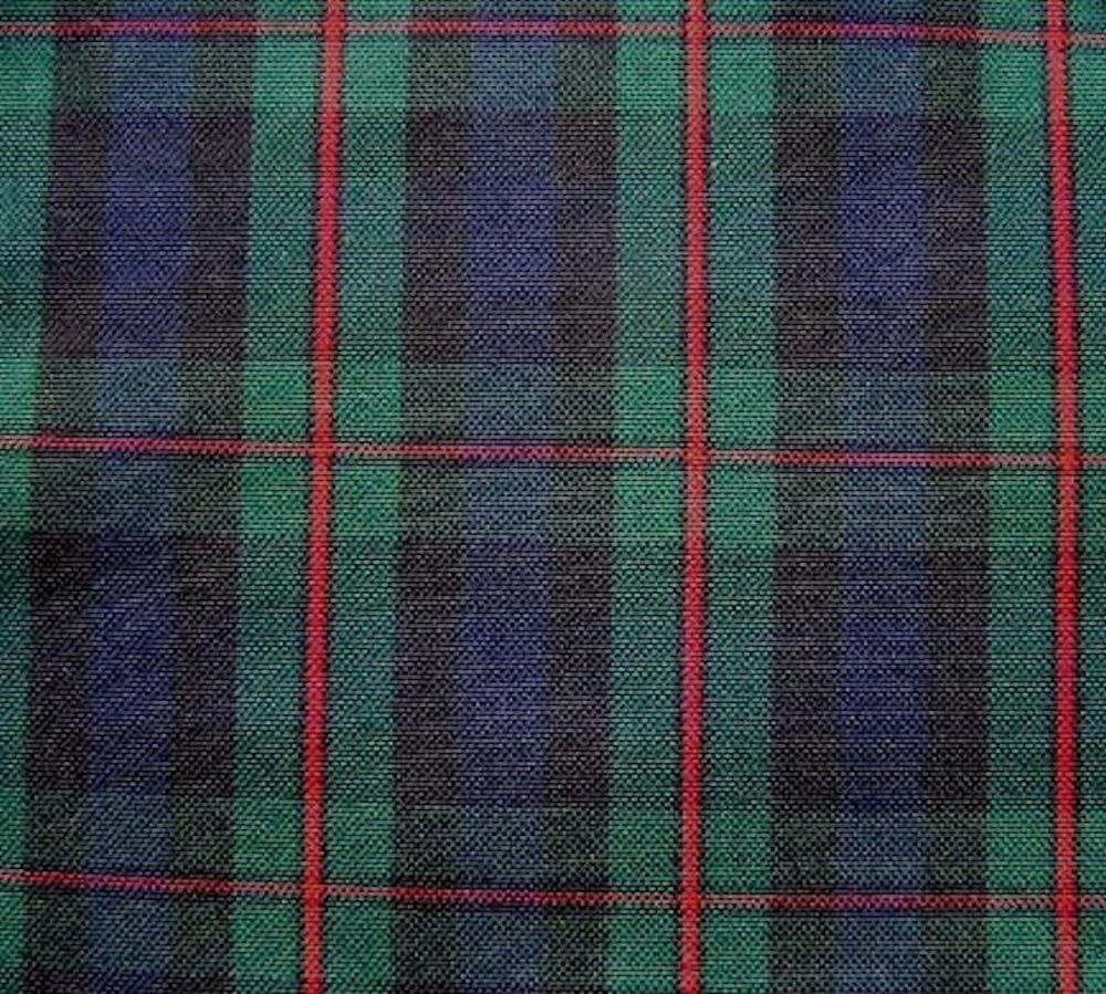 Slipcover fabric by the yard - 20 Yards Murray Atholl Blue Green Red Tartan Plaid Slipcover Fabric Drapery