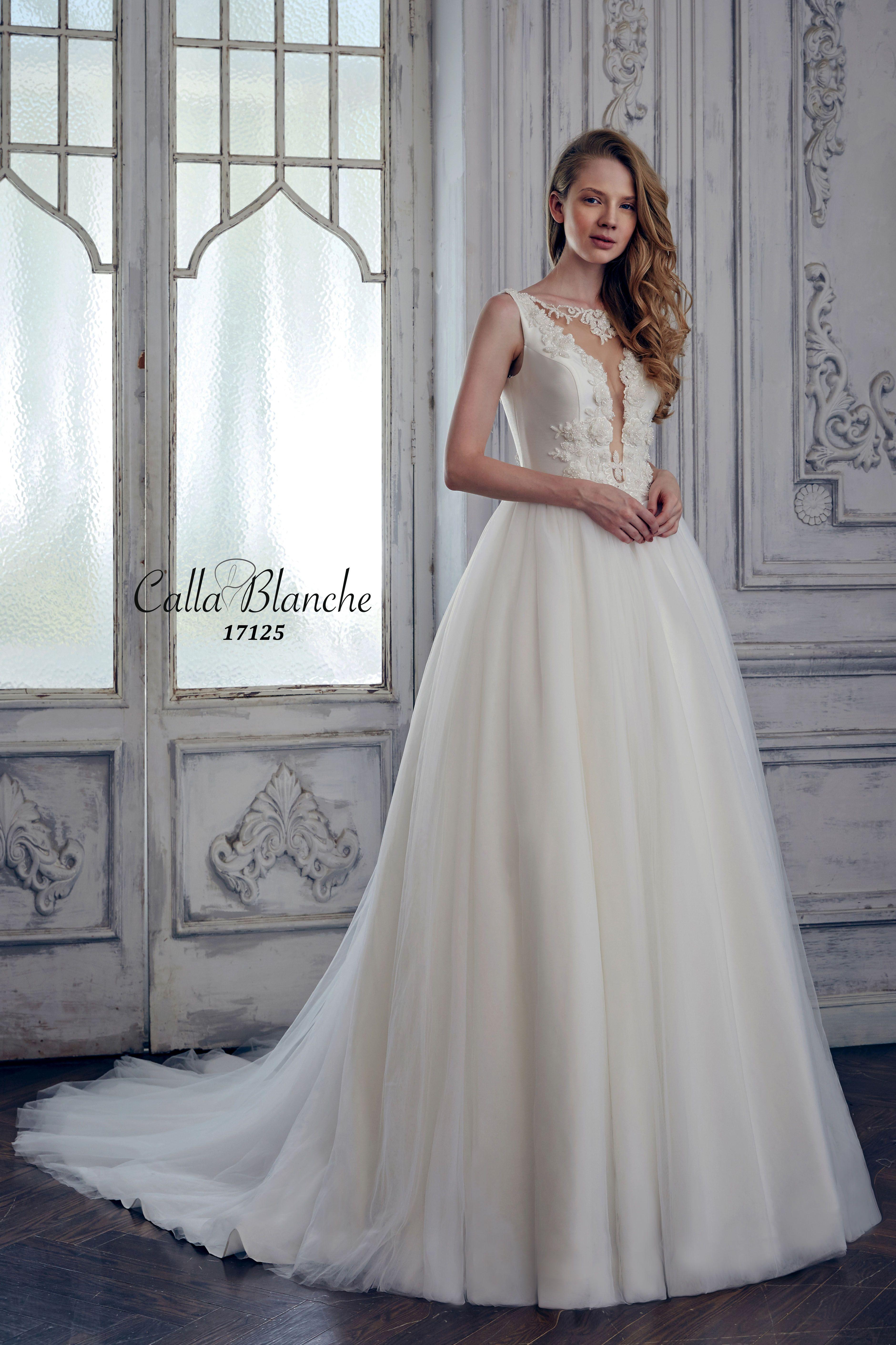 Calla Blanche wedding dress/gown- Blanca, ivory ballgown wedding ...