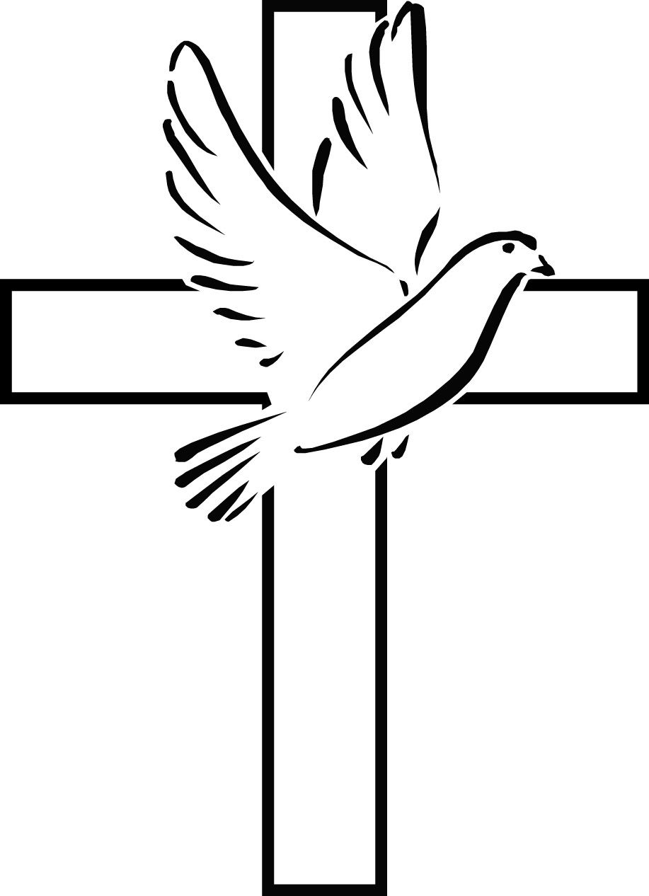holy spirit dove clip art 28 holy spirit dove pictures free rh pinterest com cross clip art black and white cross clipart png