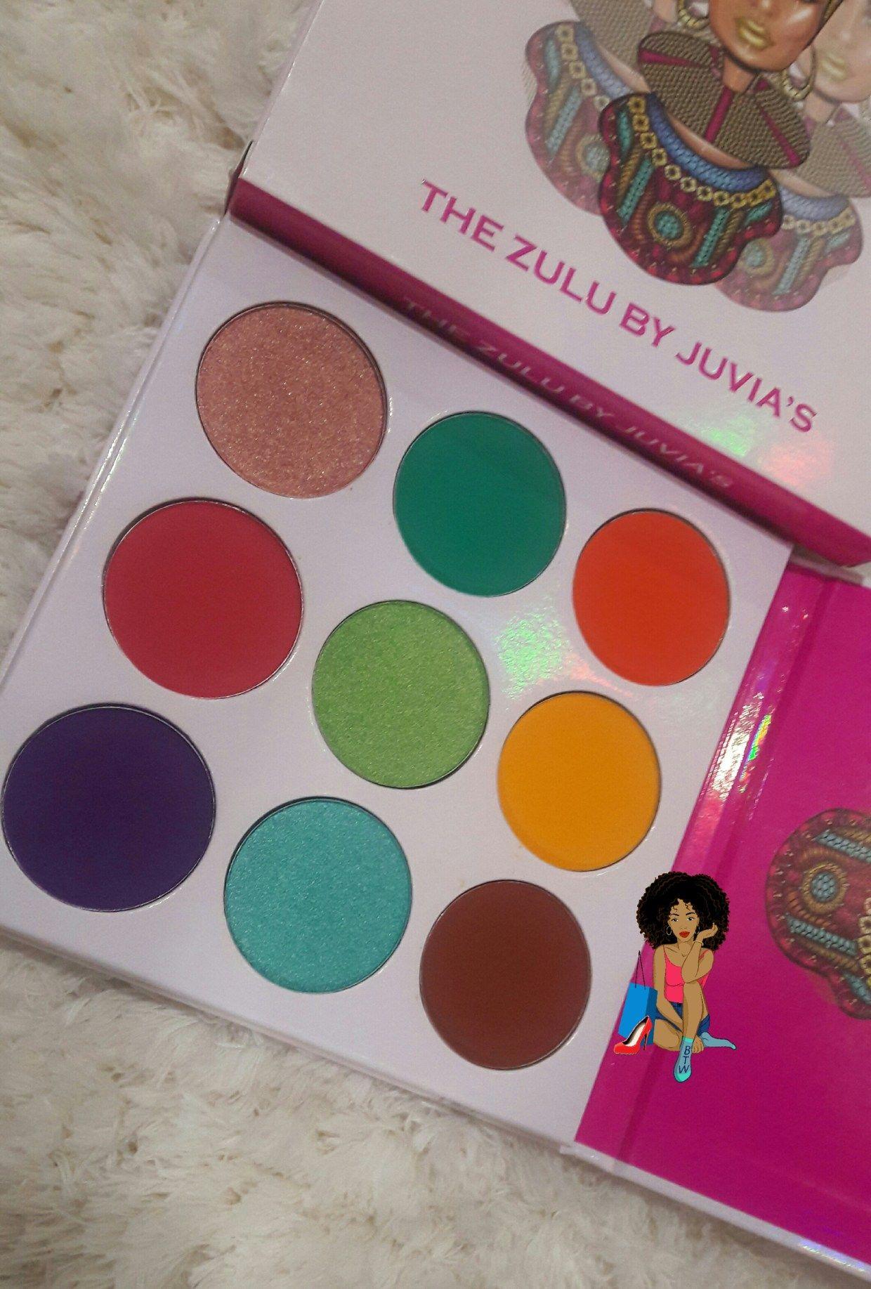 Juvia's Place Zulu Palette Review Palette, Zulu, Juvia