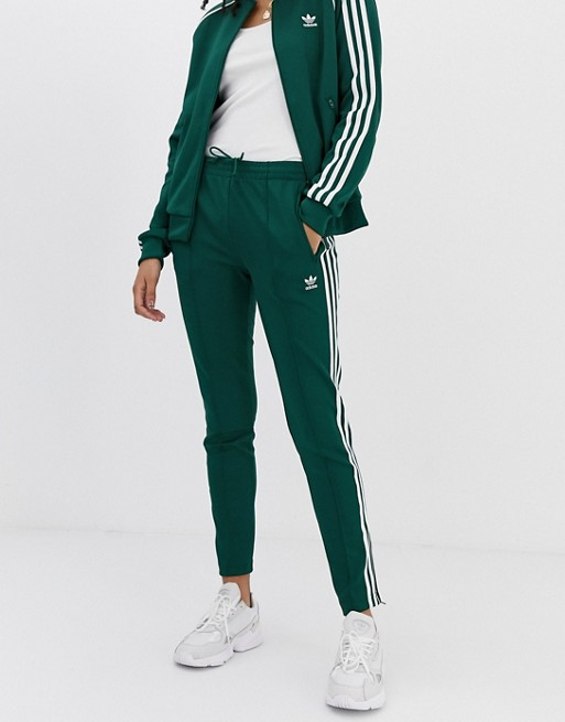 adidas Originals 3 Stripe Cigarette Pant | Svart