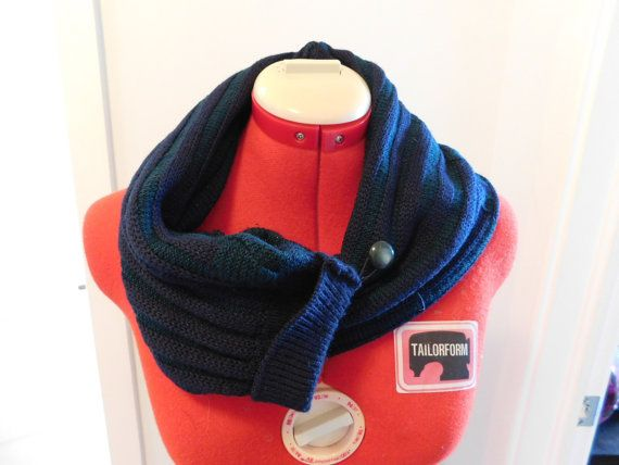 Sale Boyfriend hug knitted scarf unique scarf geek by AbyDeve