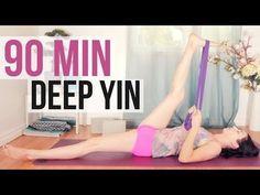 yin yoga deep stretches  long holds 90 min  yin yoga