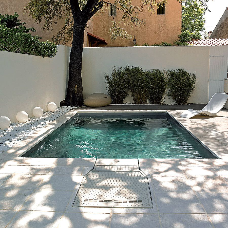 La piscine en mouvement Mini piscine, Piscine desjoyaux