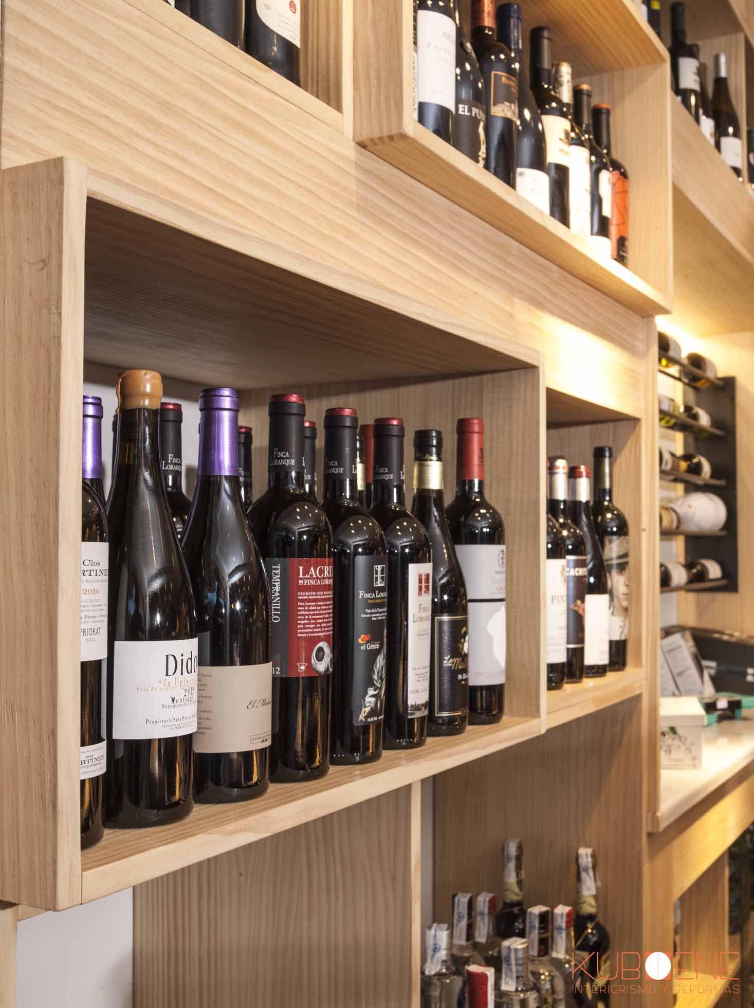 Lineal De Vinos Para Tienda Gourmet Abarrotes Dise O Kuboene  # Muebles Para Tienda Gourmet