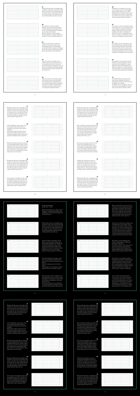 InDesign Storyboard Template 2.39:1 (scope) — Avenir Light 10pt on ...
