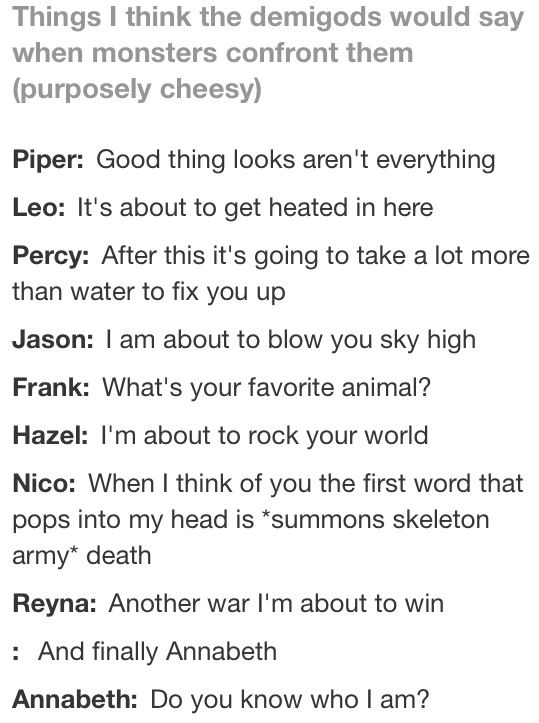 These Are Awesome Especially Annabeths Percy Jackson