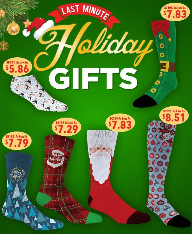 Last Minute Gifts, Custom Socks