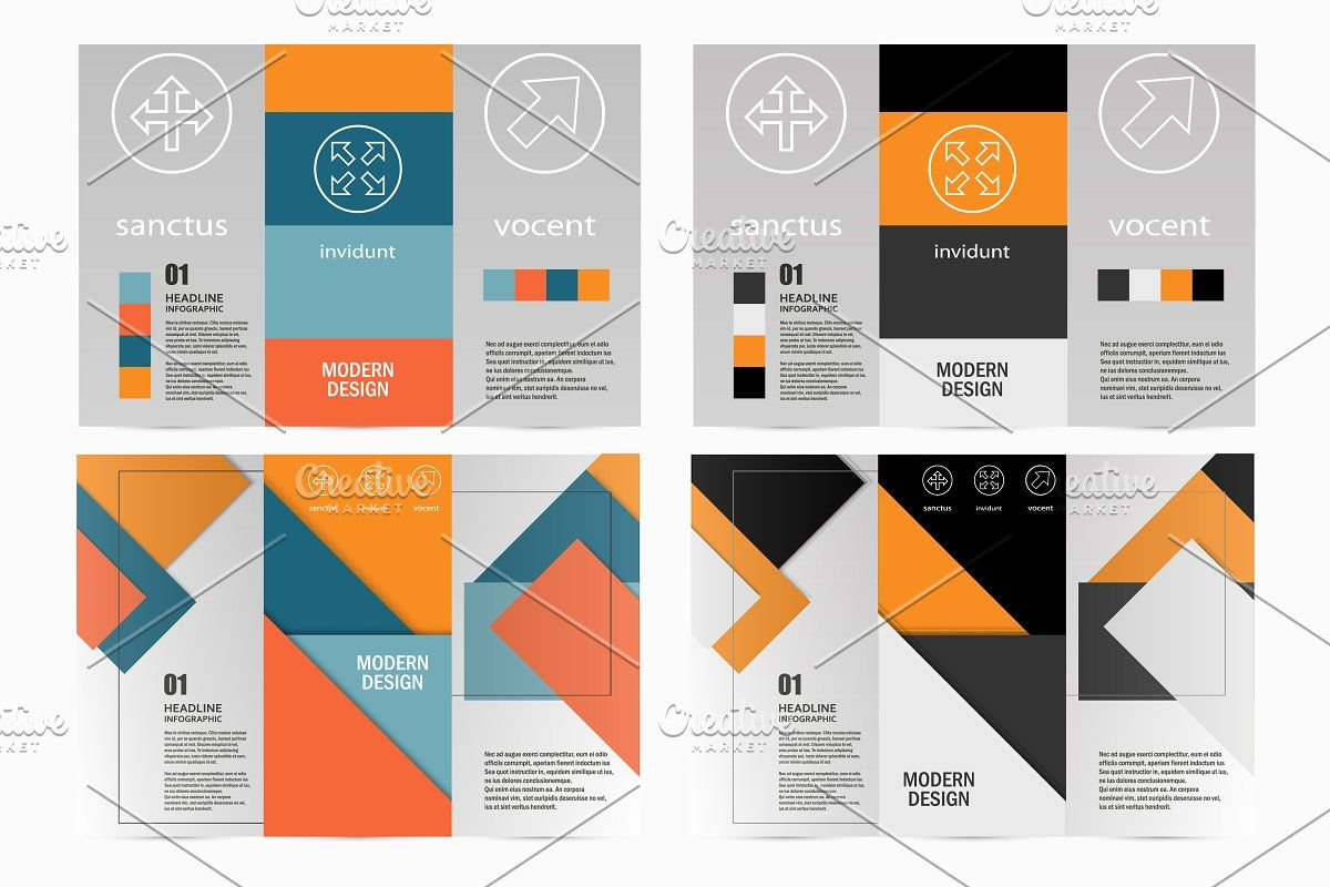 Flyer material design , #spon, #vector#includes#files#material #affiliate