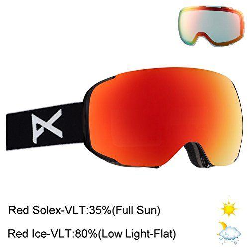 ebdd85687d New Anon Men s M2 Fog Free Magnetic Lens Ski Snow Goggle. Winter Sports  Snowboarding