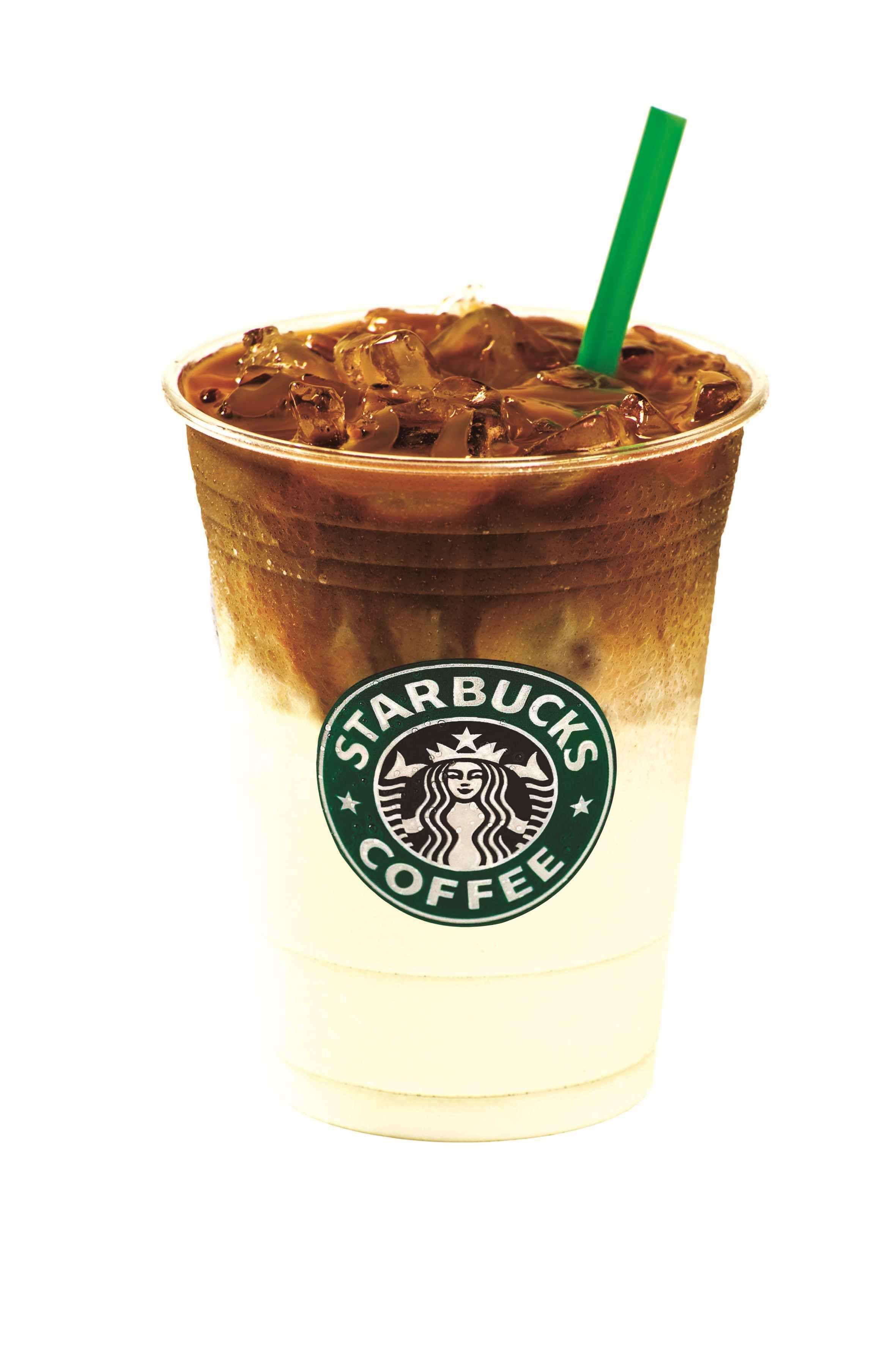 Iced starbucks coffee just looks cool coffee cake