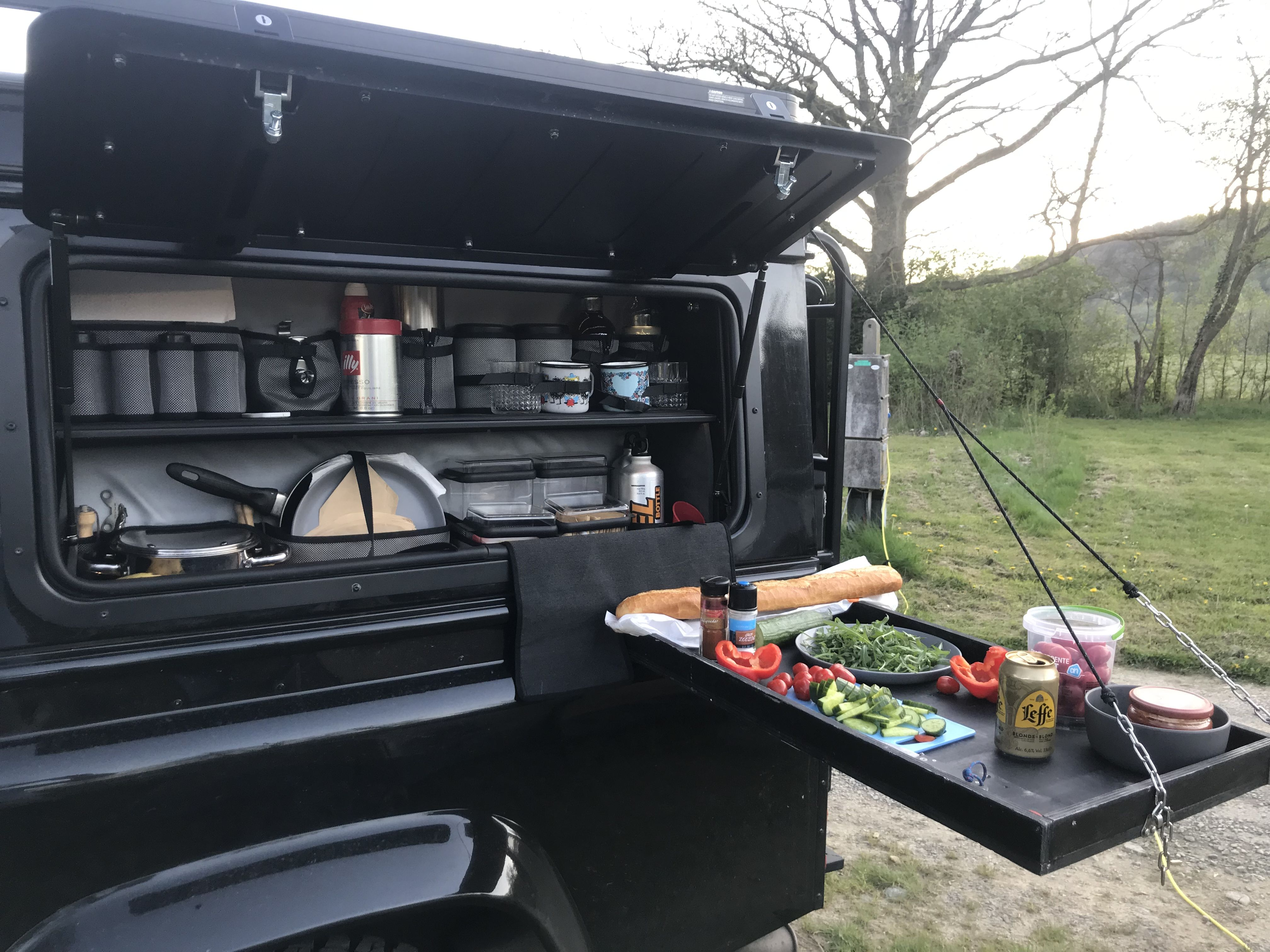 Kitchen Land Rover Defender Camping Land Rover Defender Defender Camper