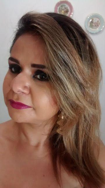 Daniela Viotto Makeup: Olho Tudo Boca Tudo