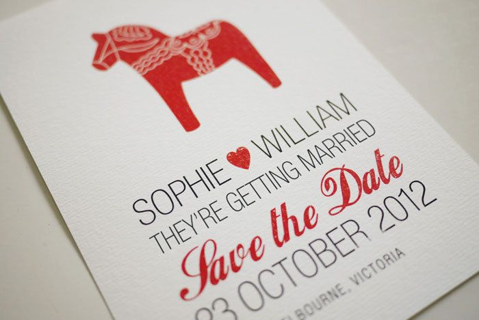 Good Font Combinations For Wedding Invitations: DIY Printable Save The Date Invitation