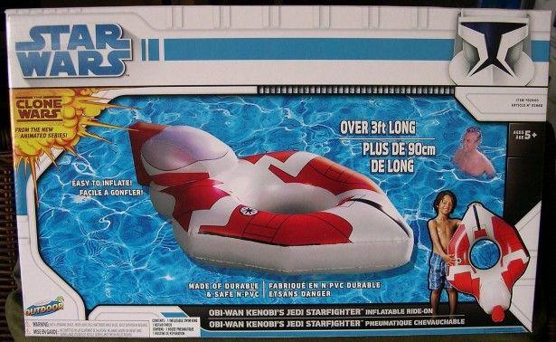 Pool raft ObiWan's starfighter Starfighter, Star wars