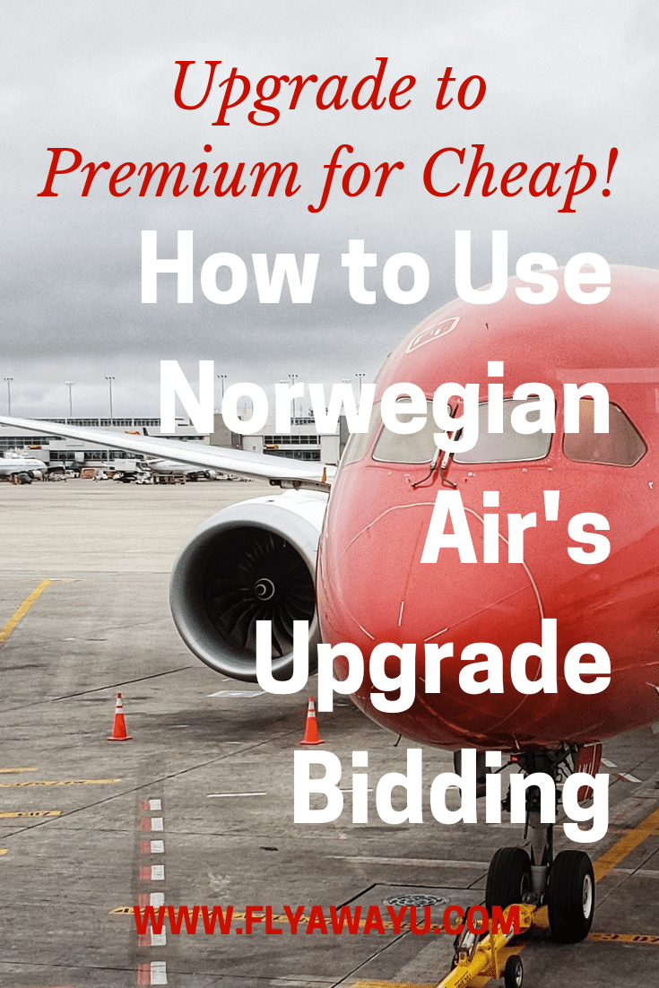 Upgrade to Premium for Less! How to Use Norwegian Air's