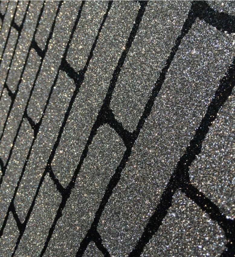 Glitter Brick (Silver Black Glitter ) PP3 in 2020