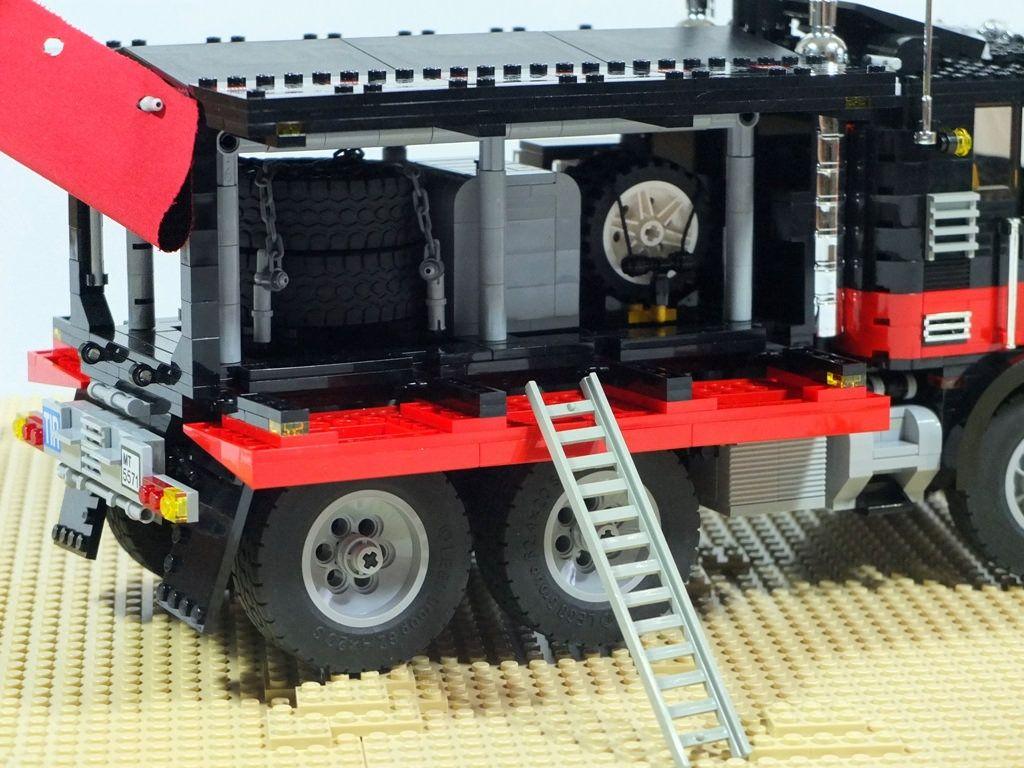 Black Cat Rally Team Mini Lego Lego Truck Lego Technic Lego