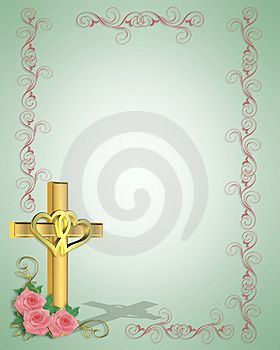 wording for christian wedding invitation