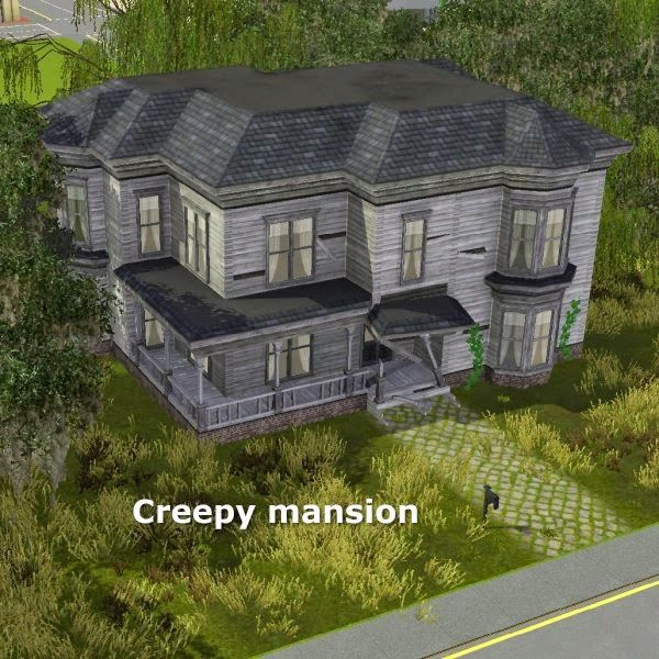 Simming in Magnificent Style: Creepy mansion
