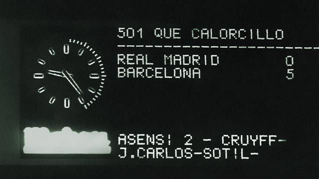 RT @BarcelonaVAVEL: Hoy, 17 de febrero, se cumplen 41 años del 0-5 del Barça de Cruyff al Real Madrid. #FCBlive