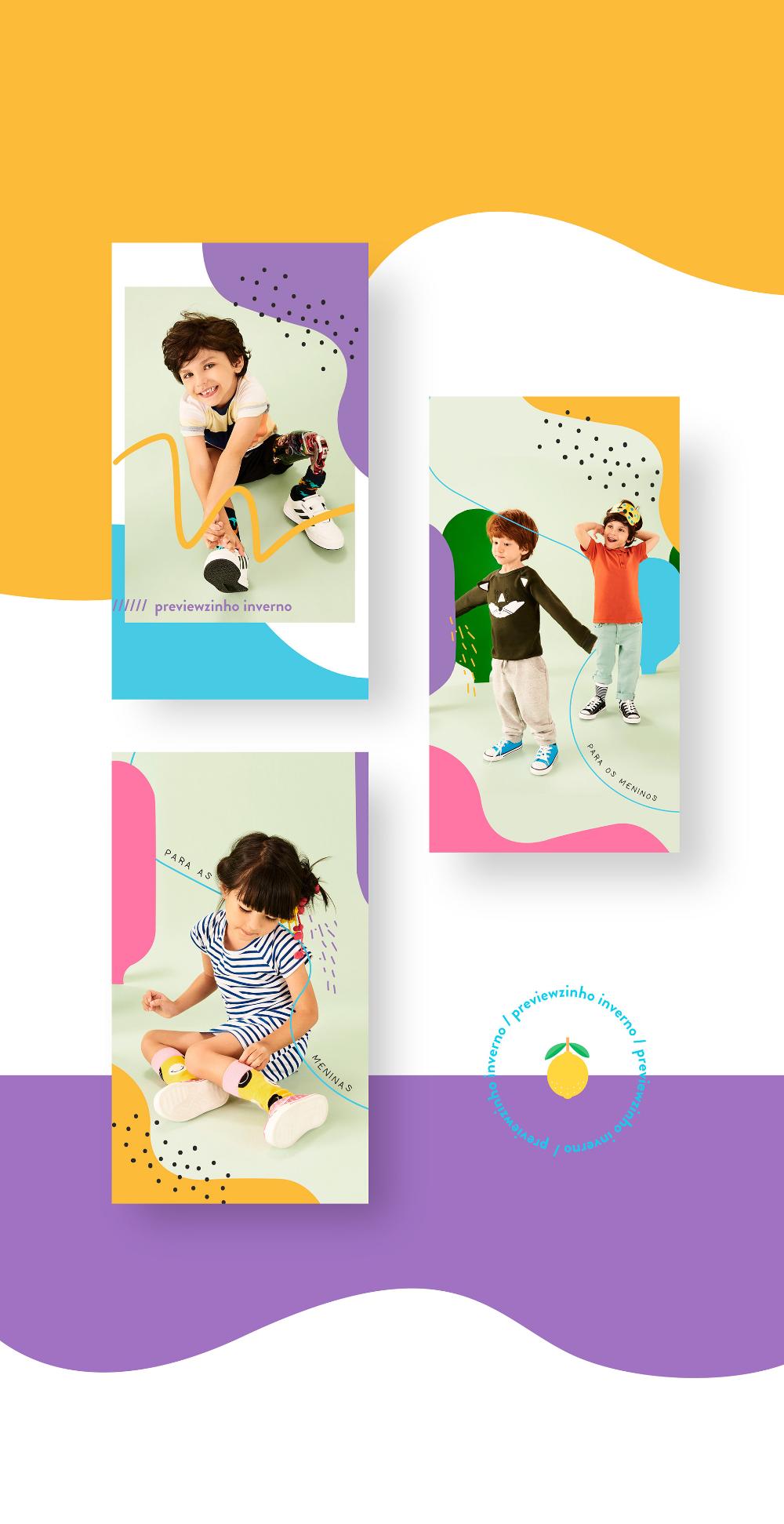 600 followers on instagram on behance Tricae Kids Graphic Design On Behance In 2020 Kids Graphic Design Kids Branding Design Instagram Graphic Design
