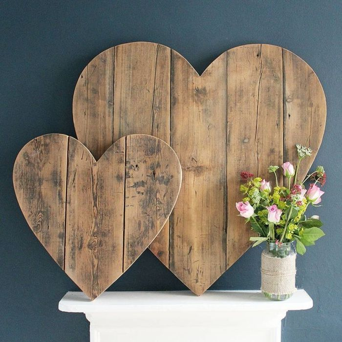 40 amazing ideas for wall decoration made of wood, # Check more at https://baby.cremm.site/40...