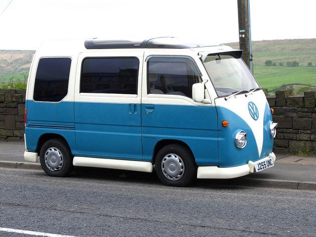 Subaru Sambar Minivan Mini Van Subaru Mini Bus