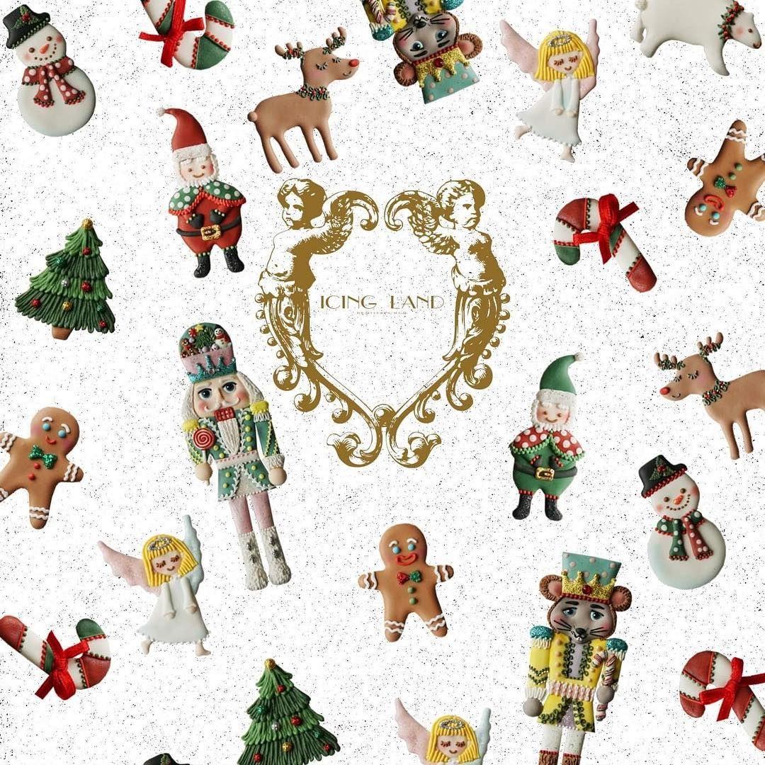 Christmas Wallpaper❄ | ICING LAND | Pinterest | Ice land