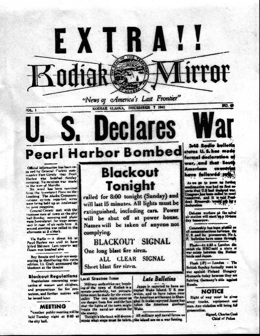 The Next Morning, December 8th, 1941, After The Japanese Attack To Pearl  Harbor