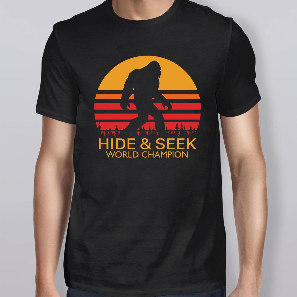 c198ef4a Bigfoot Hide And Seek World Champion Shirt, Hoodie | Peepztees | T ...