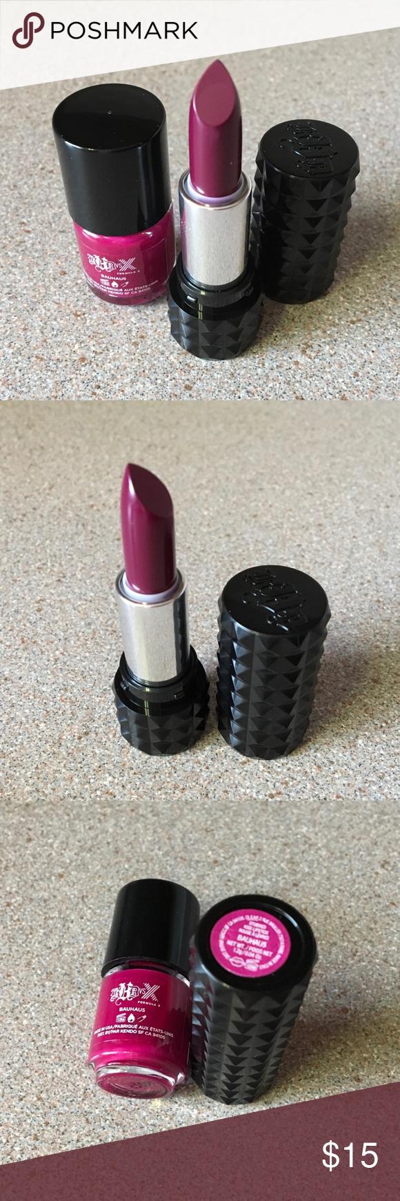 Kat Von D Bauhau5 Lipstick & Polish Set. NEW! Kat Von D Bauhau5 ...