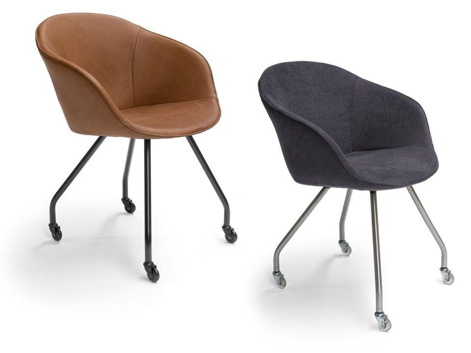 Eetkamerstoel dolce op wielen interieur furniture inspiration