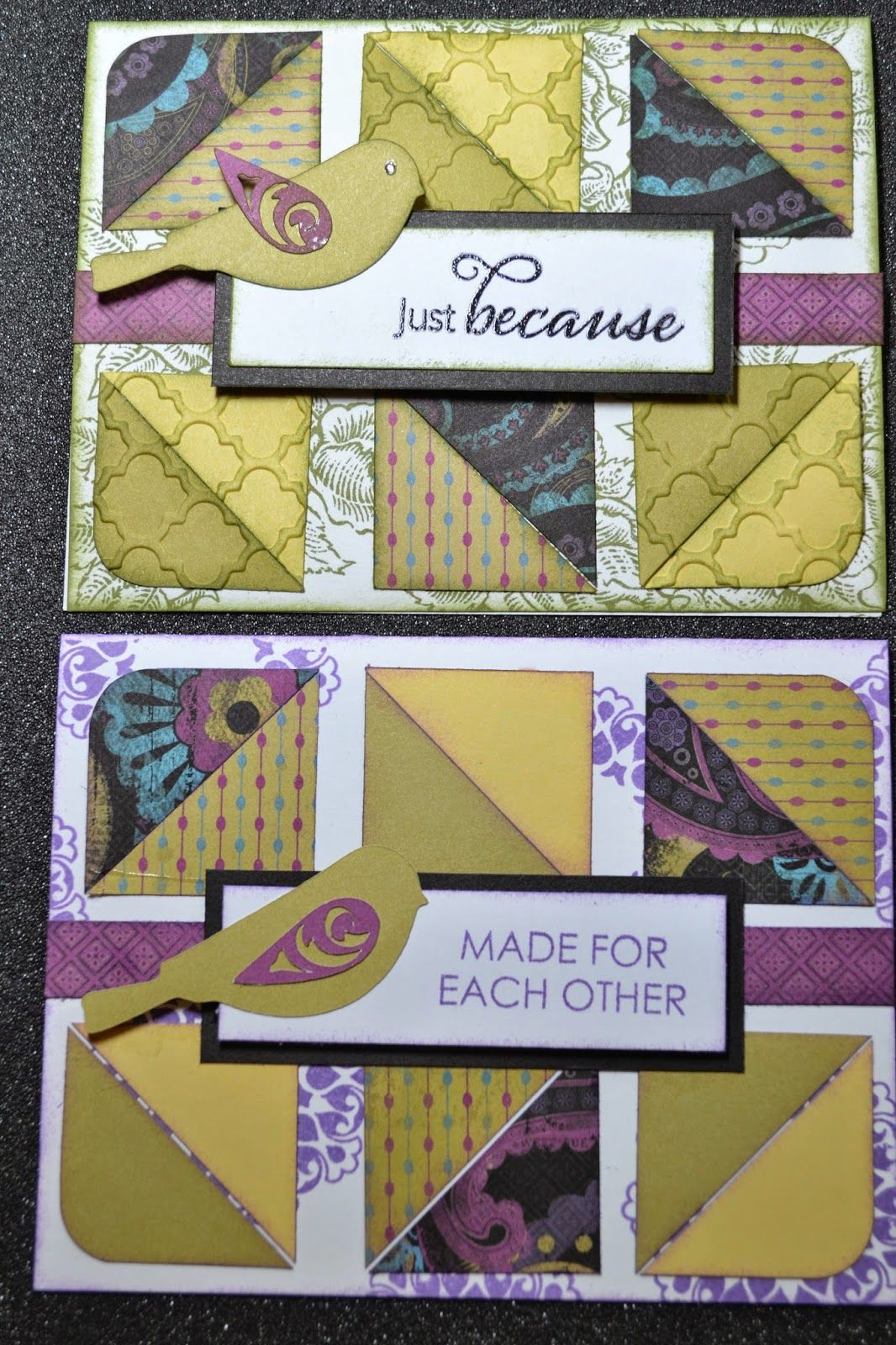 Kim Ferguson's Crafting Blog - Rubber Stamping and Scrapbooking: Just Because Card - 2015