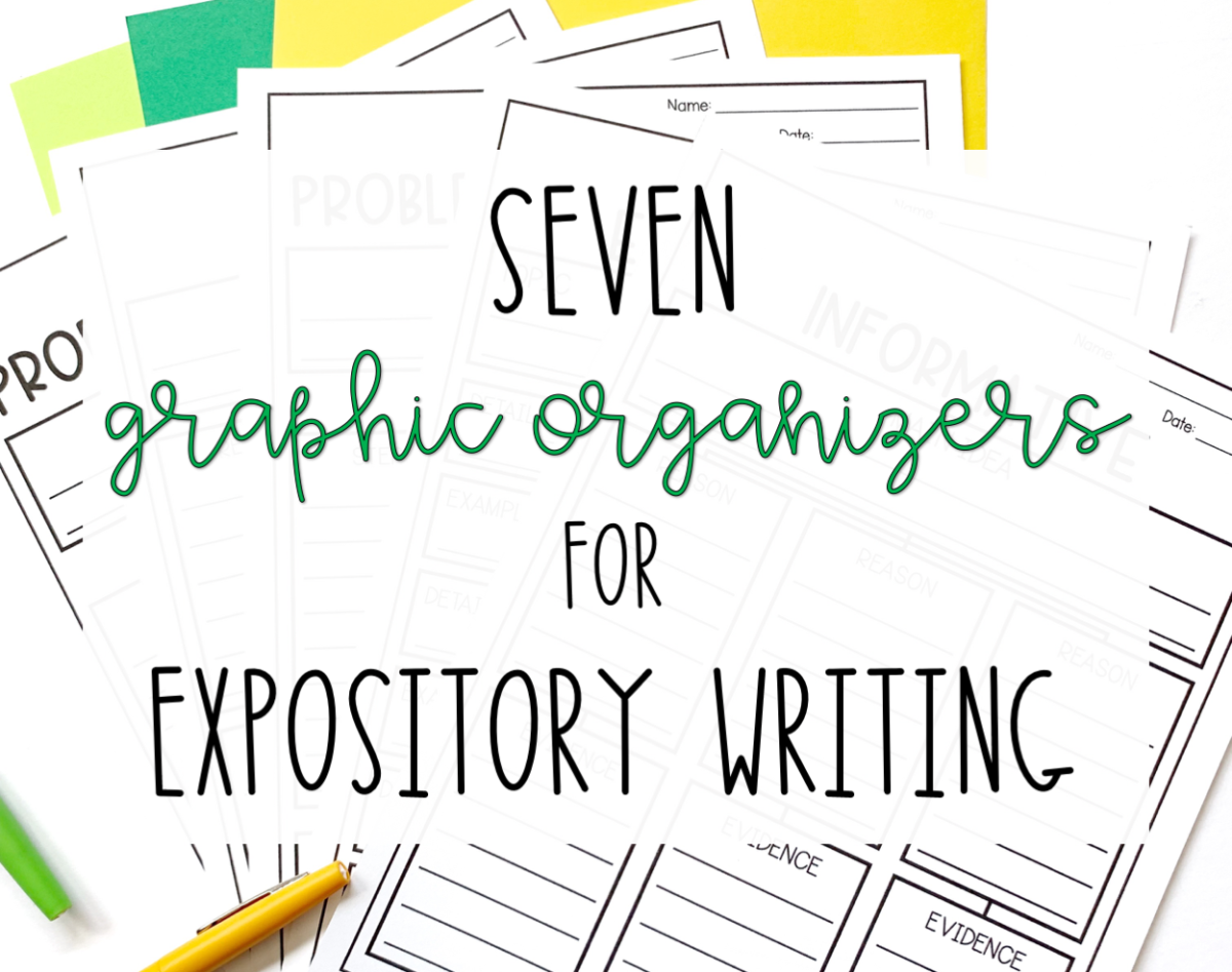 7 Graphic Organizers For Expository Writing