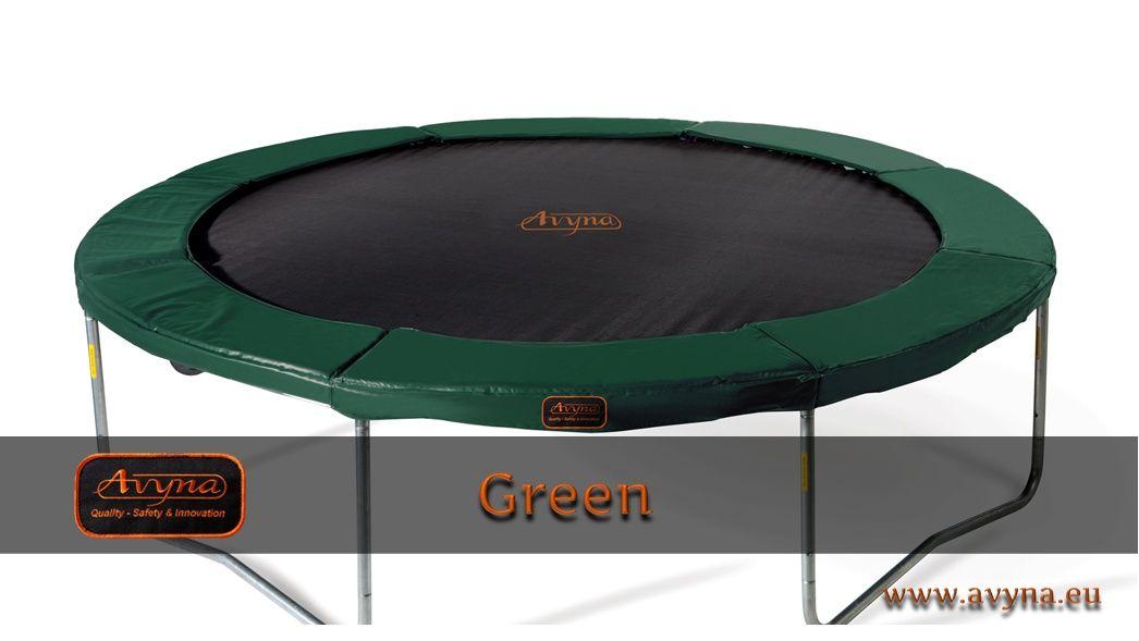 Trampoline green trampolines