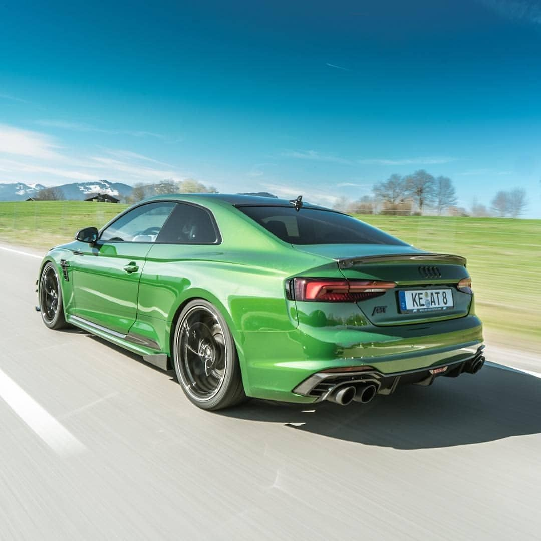 Perfect Shape Perfect Color Sonoma Green Abt Rs5 R Audi Audi Rs5 Audi Rs