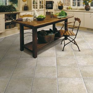 Stone Flooring For My Kitchen Floor  Like This A Lot But Would Cool Stone Floor Kitchen Design Decoration