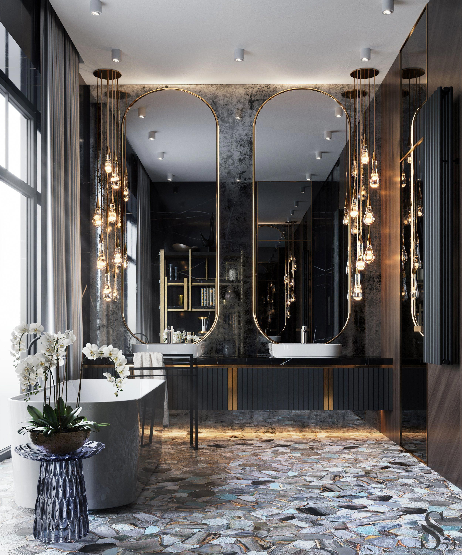 Grey Master Bathroom Tipsgrey Master Bathroom Tips Grey Bat Grey Master Bathroom Tipsgrey Master Bathroo In 2020 Luxus Interieur Badezimmereinrichtung Stil Badezimmer