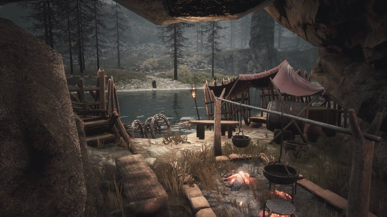 Bandit Camp In Tower Ruin Conan Exiles Speed Build 2020 In 2020 Conan Exiles Conan Bandit