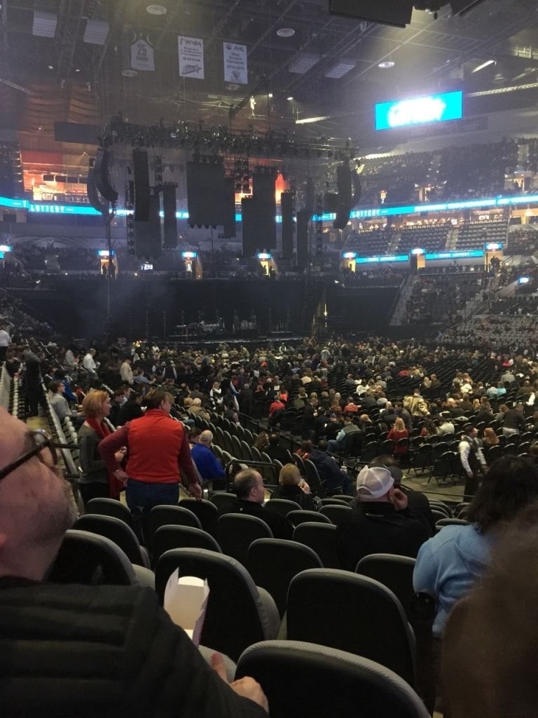 Att Center Section 104 Concert Seating Rateyourseats Throughout