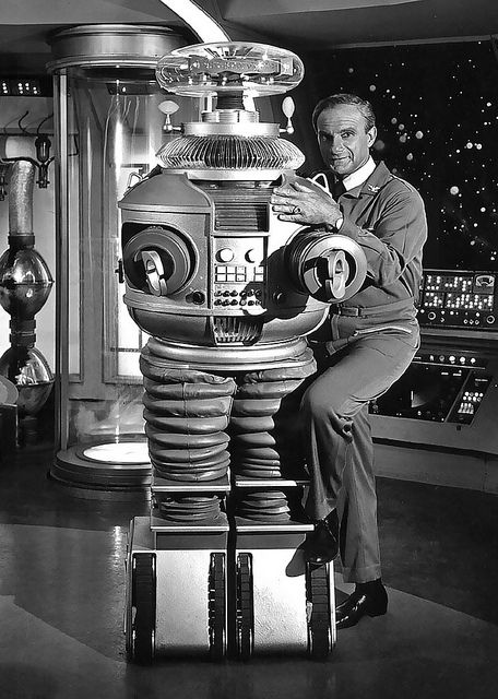1965 ... Dr. Smith and the Robot! by x-ray delta one, via Flickr